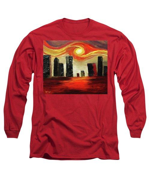 Twisted City Long Sleeve T-Shirt