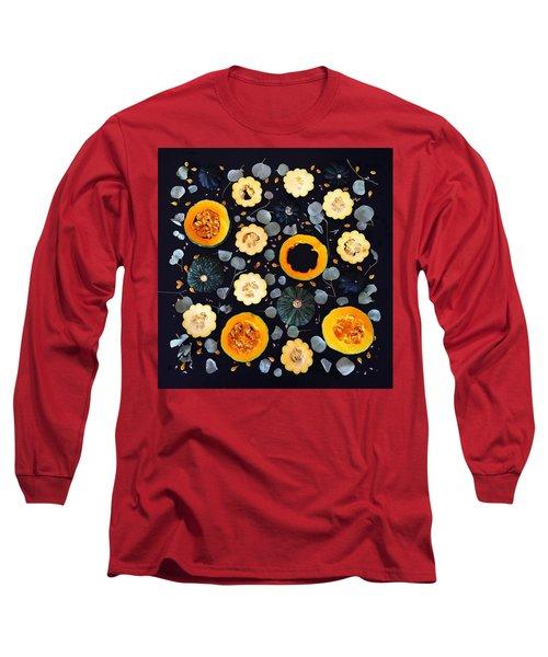 Squash Patterns Long Sleeve T-Shirt