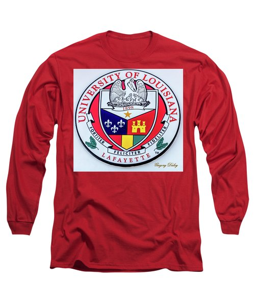 Ul Seal Long Sleeve T-Shirt by Gregory Daley  PPSA