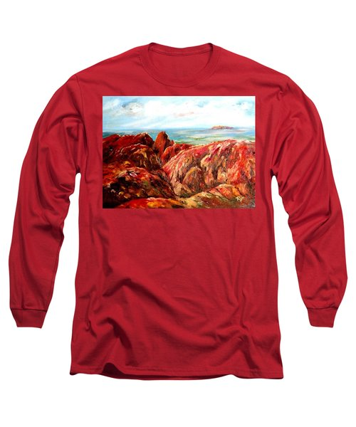 Uluru Viewed From Kata Tjuta Long Sleeve T-Shirt