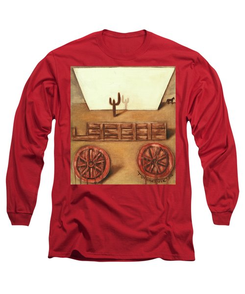 Tommervik Uncovered Wagon Art Print Long Sleeve T-Shirt