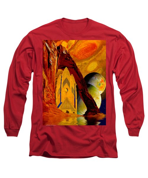 Under The Giants Eye Long Sleeve T-Shirt