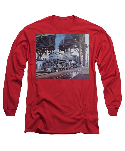 Union Pacific Big Boy Long Sleeve T-Shirt by Mike  Jeffries