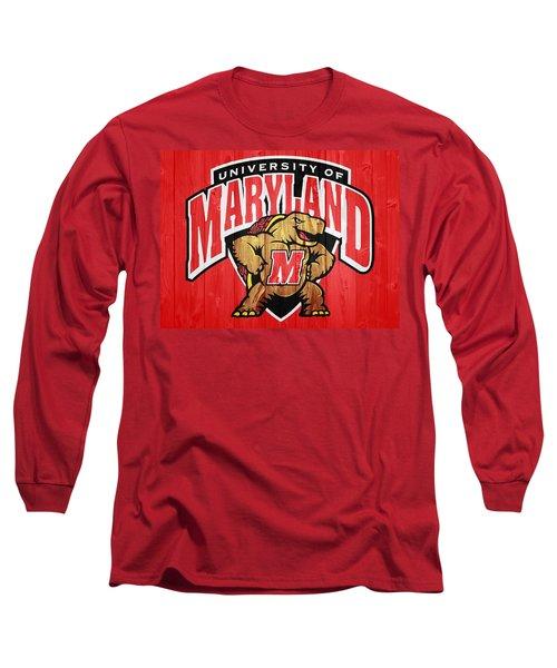 University Of Maryland Barn Door Long Sleeve T-Shirt