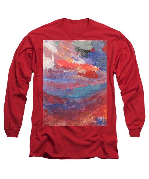 Untitled 96 Original Painting Long Sleeve T-Shirt