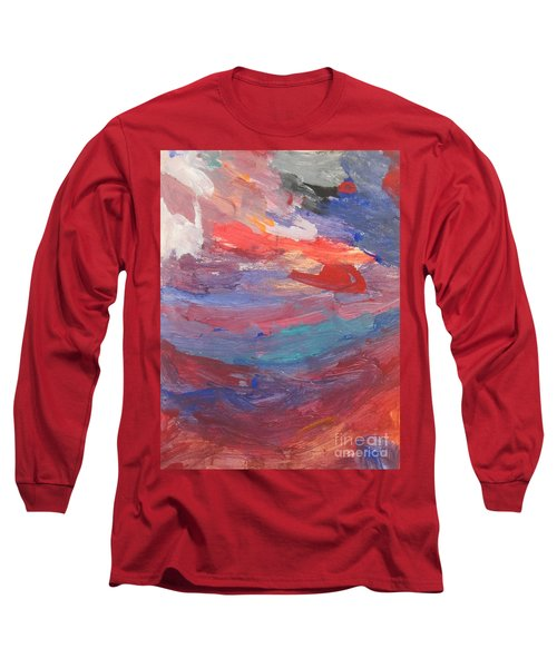 Untitled 96 Original Painting Long Sleeve T-Shirt