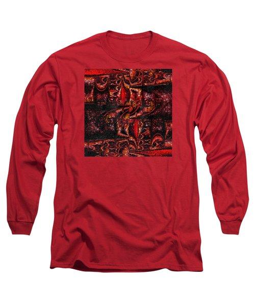 Untitled Long Sleeve T-Shirt by Richard Ortolano