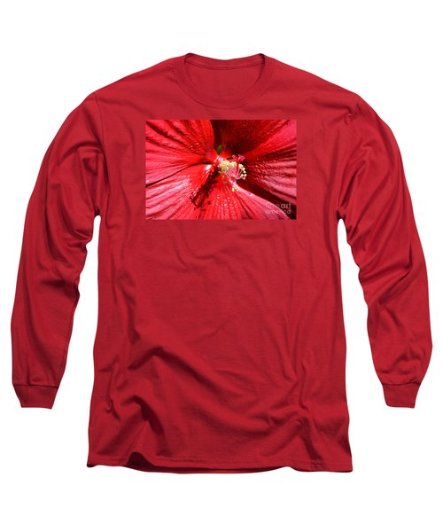 Up Close And Personal Long Sleeve T-Shirt by Lew Davis
