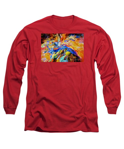 updated Our God is a Consuming Fire Long Sleeve T-Shirt by Margie Chapman
