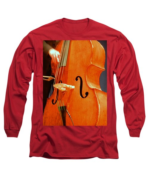 Upright Bass 3 Long Sleeve T-Shirt