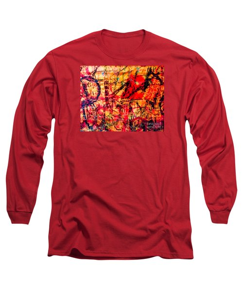 Urban Grunge One Long Sleeve T-Shirt by Ken Frischkorn