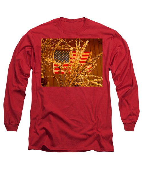 U.s. Wheat Long Sleeve T-Shirt