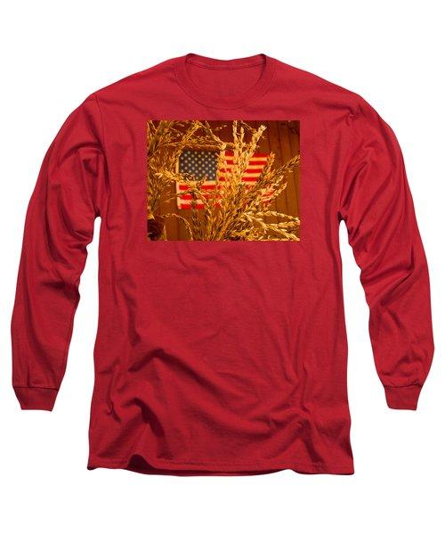 U.s. Wheat Long Sleeve T-Shirt