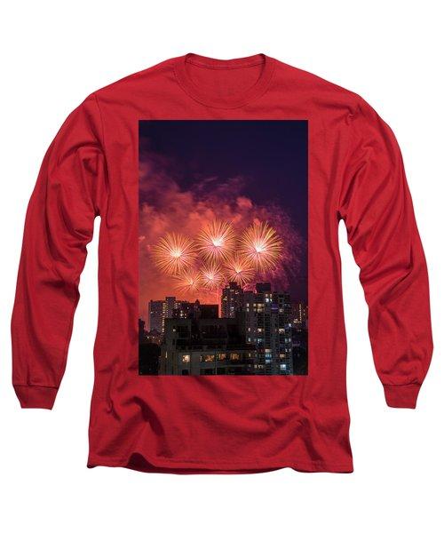 Usa 3 Long Sleeve T-Shirt by Ross G Strachan