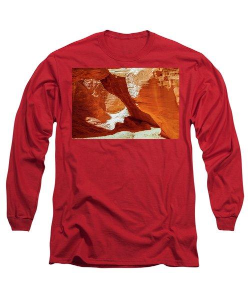 Utah Arches Long Sleeve T-Shirt by Jim Mathis