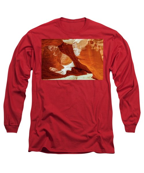 Long Sleeve T-Shirt featuring the photograph Utah Arches by Jim Mathis