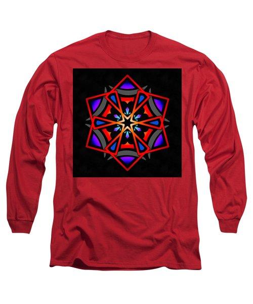 Long Sleeve T-Shirt featuring the digital art Utron Star by Derek Gedney