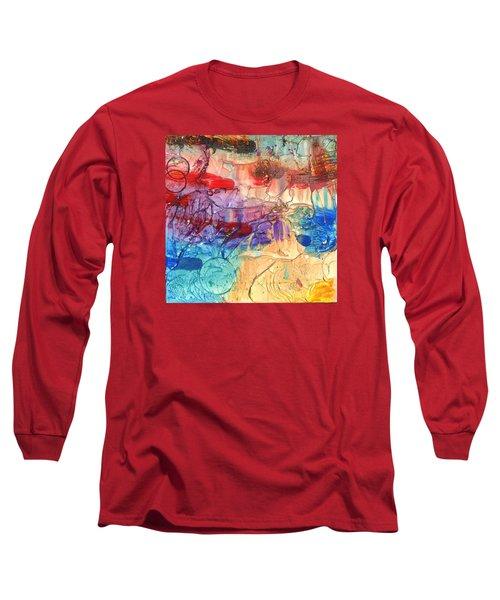 Vacation #2 Long Sleeve T-Shirt by Phil Strang