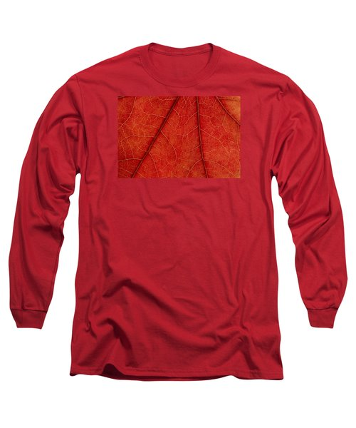 Long Sleeve T-Shirt featuring the photograph Vains by Chevy Fleet