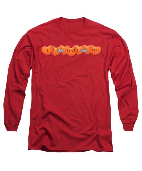 Valentine 07 Long Sleeve T-Shirt by Ericamaxine Price