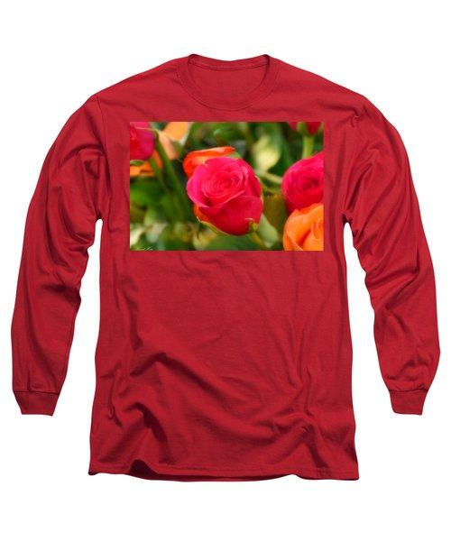 Valentines Day Long Sleeve T-Shirt by Bernd Hau