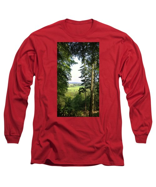 Valley View Long Sleeve T-Shirt by Anne Kotan