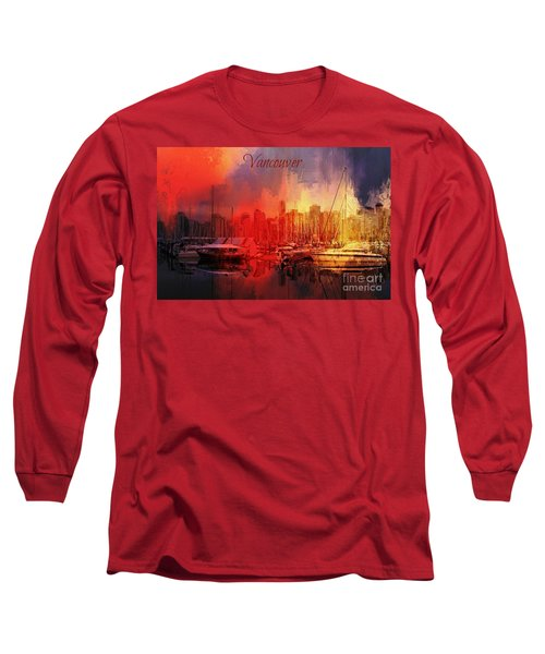 Vancouver Long Sleeve T-Shirt by Eva Lechner