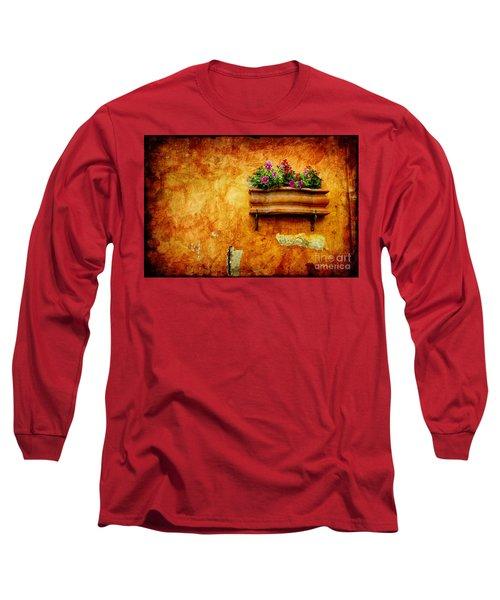 Vase Long Sleeve T-Shirt by Silvia Ganora
