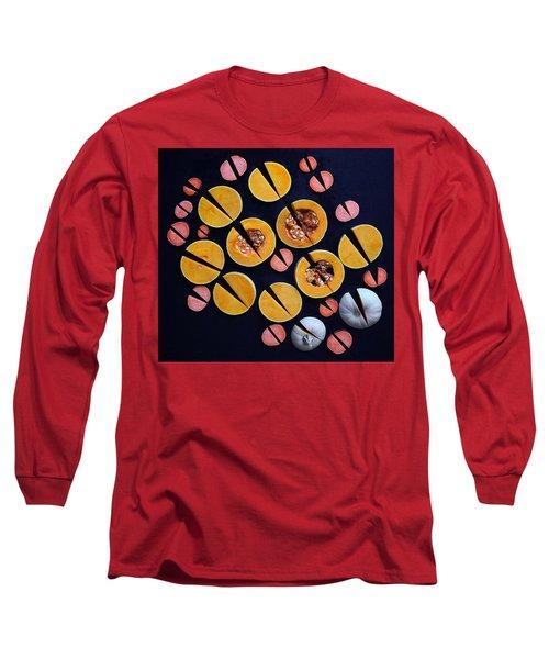 Vegetable Patterns Long Sleeve T-Shirt