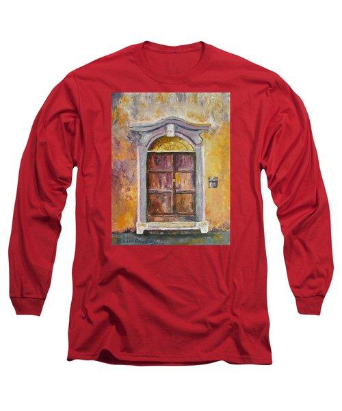 Venice Door Long Sleeve T-Shirt by Lisa Boyd
