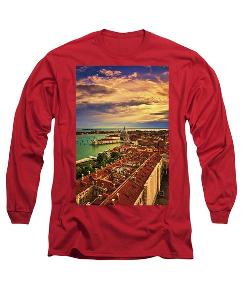 From The Bell Tower In Venice, Italy Long Sleeve T-Shirt