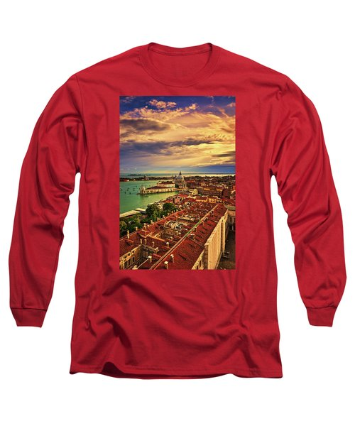 Venice From The Bell Tower Long Sleeve T-Shirt