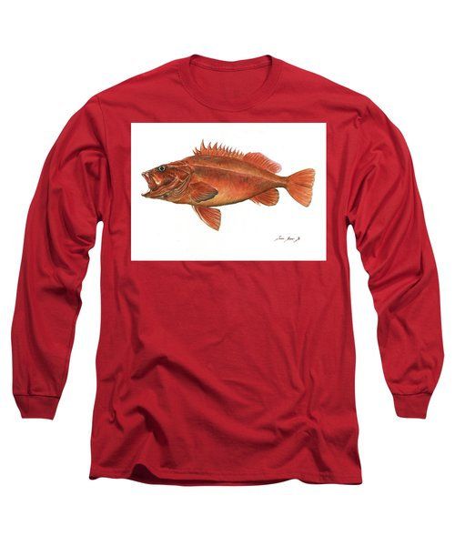 Vermilion Rockfish Long Sleeve T-Shirt