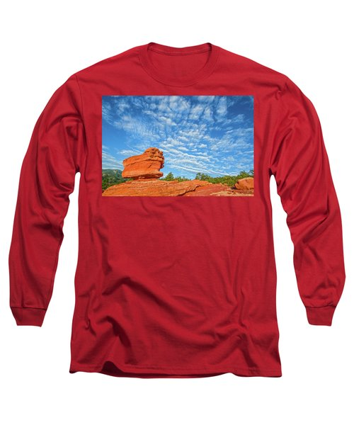 Vermillion Is The Color Of The Rock.  Long Sleeve T-Shirt
