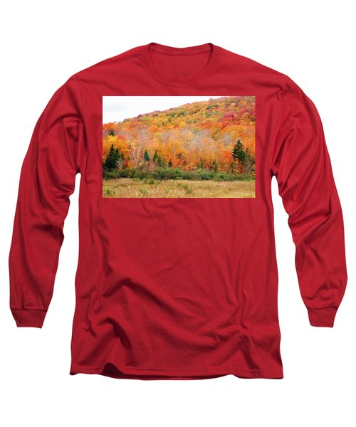 Vermont Foliage Long Sleeve T-Shirt