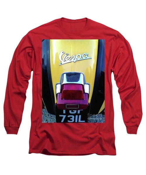 Vespa Style Long Sleeve T-Shirt