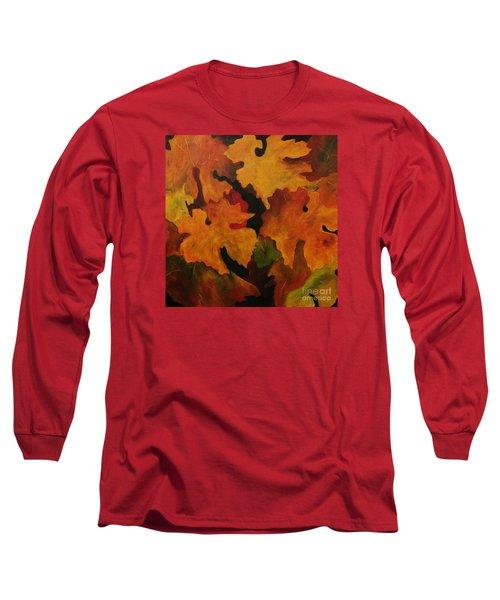 Vine Leaves Long Sleeve T-Shirt