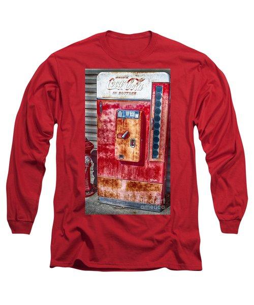 Vintage Coca-cola Machine 10 Cents Long Sleeve T-Shirt