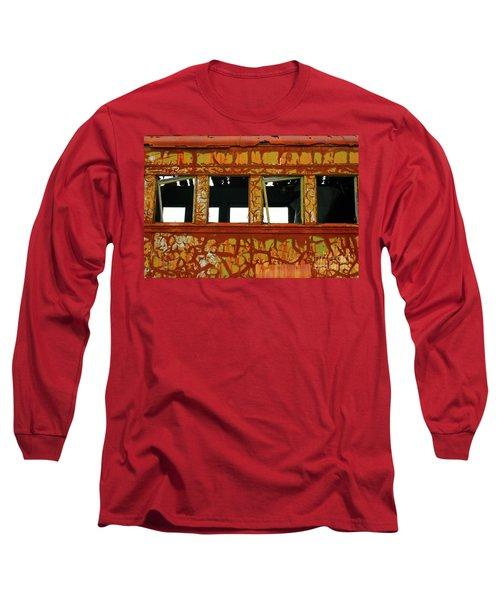 Vintage Railcar Long Sleeve T-Shirt