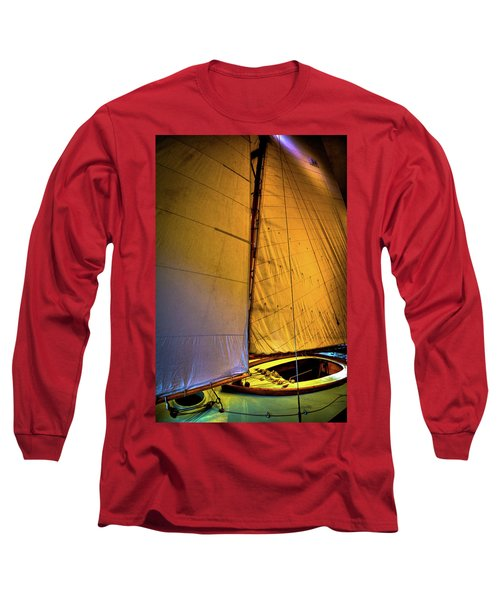 Long Sleeve T-Shirt featuring the photograph Vintage Sailboat by David Patterson