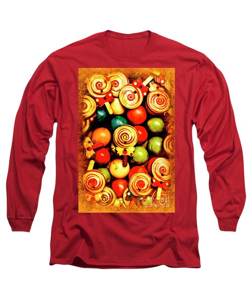 Vintage Sweets Store Long Sleeve T-Shirt