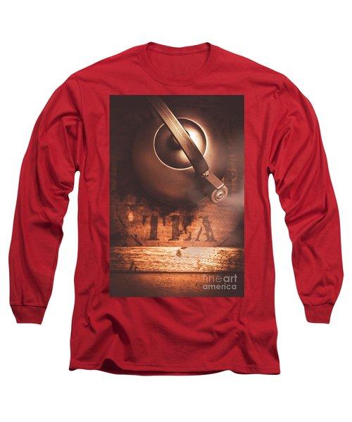 Vintage Tea Break Long Sleeve T-Shirt