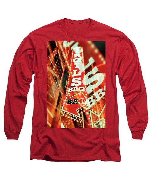 Virgils Real Bbq New York City Long Sleeve T-Shirt