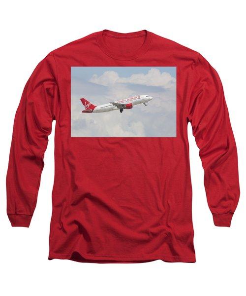 Virgin America Long Sleeve T-Shirt