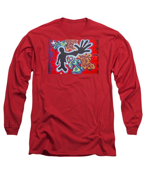 Vision Long Sleeve T-Shirt by  Newwwman