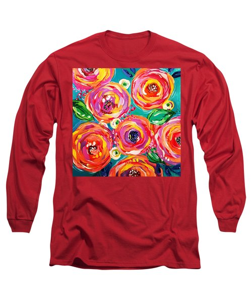 Vivid Flora Long Sleeve T-Shirt