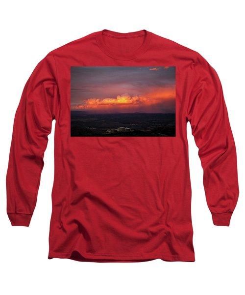 Vivid Verde Valley Sunset Long Sleeve T-Shirt