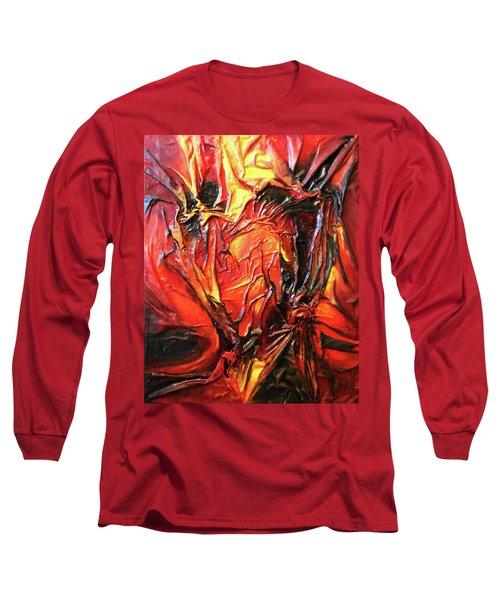 Volcanic Fire Long Sleeve T-Shirt