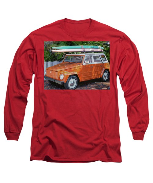 Volkswagen And Surfboards Long Sleeve T-Shirt