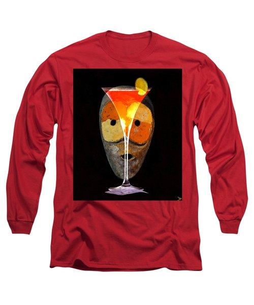 Voodoo Martini Long Sleeve T-Shirt by David Lee Thompson